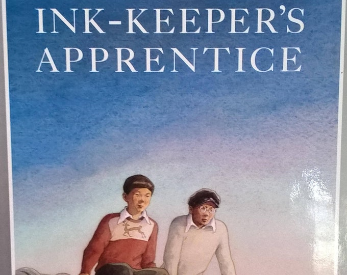 The Ink-Keeper's Apprentice by Allen Say - First Edition Children's Books - Vintage Child Book, Tokyo Japan, Japanese Cartoons, 1990s