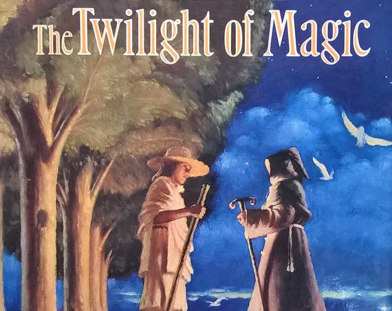 The Twilight of Magic - Hugh Lofting, Tatsuro Kiuchi - First Edition Children's Book, Kids Book - Fantasy Book, Magic, Witches