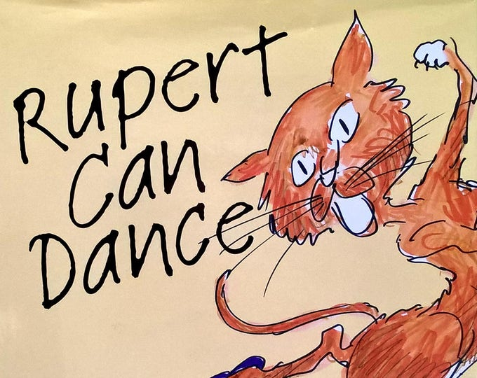 Rupert Can Dance by Jules Feiffer - First Edition Children's Books - Picture Books, Books With Cats