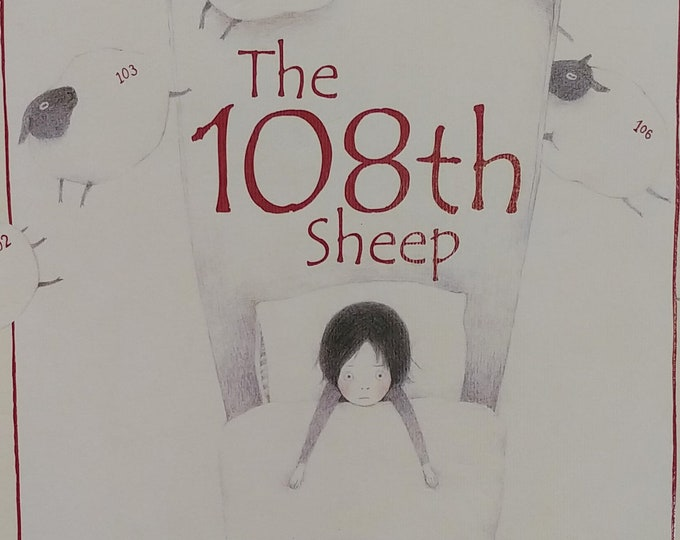 The 108th Sheep by Ayano Imai - First edition children's books, kids book - Bedtime Stories, Counting Sheep