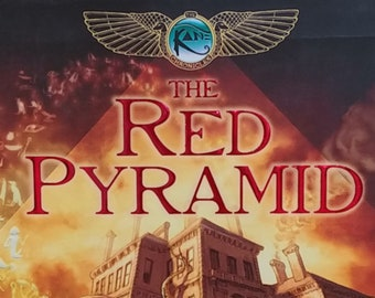 The Red Pyramid by Rick Riordan - First Edition - Book #1 Kane Chronicles