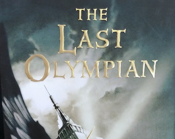 The Last Olympian by Rick Riordan - First Edition - Book #5 Percy Jackson & The Olympians