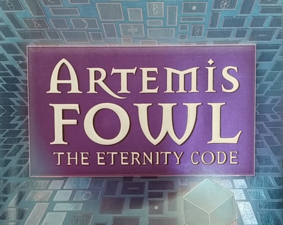 Artemis Fowl: The Eternity Code by Eoin Colfer - First Edition