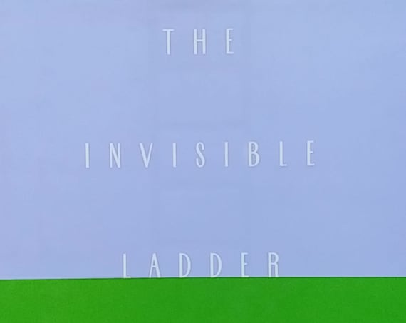 The Invisible Ladder - Liz Rosenberg, Editor - First Edition Children's Books - Vintage Book, Poetry, 1990s