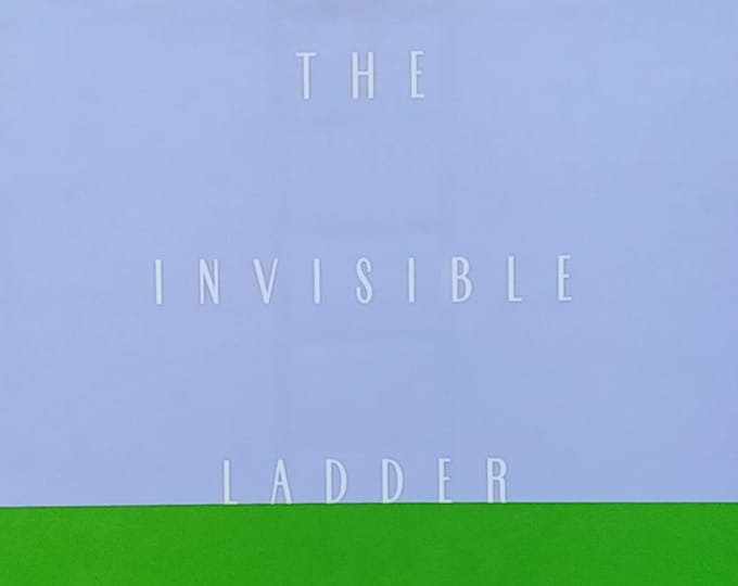The Invisible Ladder by Liz Rosenberg, Editor - First Edition Children's Books - Vintage Child Book, Poetry, 1990s
