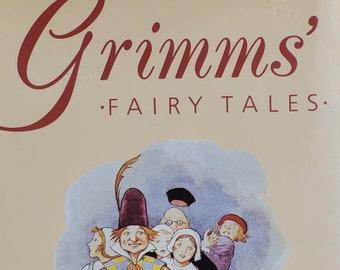 Grimms' Fairy Tales - Vintage Child Book - Stories by Jakob Grimm, Wilhelm Grimm, 1980s