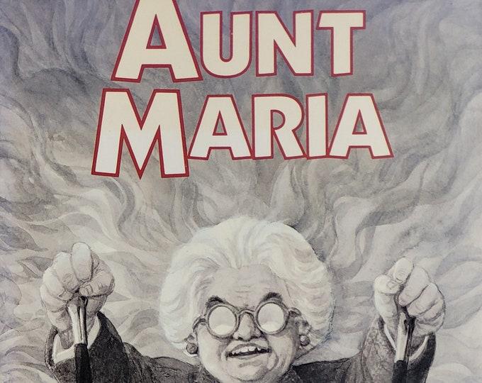 Aunt Maria by Diana Wynne Jones - 1991 First Edition - Vintage Child Book