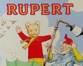 1988 Rupert Bear Daily Express Annual - First Edition Children's Books - Vintage Child Book, Text Comics, John Harrold