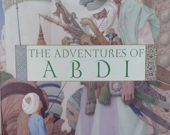 The Adventures of Abdi by Madonna - Olga, Andrej Dugin - Children's Books - First Edition, Story Book, Middle East, Kabbalah, Teachers