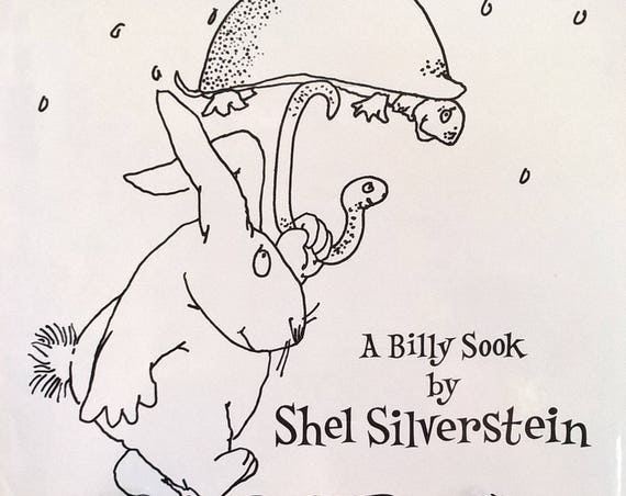 Runny Babbit: A Billy Sook by Shel Silverstein - First Edition, Childrens Books, Kids Books, Poems, Rhymes, Spoonerisms