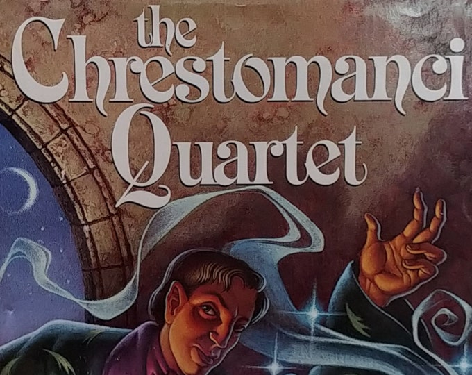 The Chrestomanci Quartet by Diana Wynne Jones - First Edition Children's Books - Vintage Book, Fantasy Book