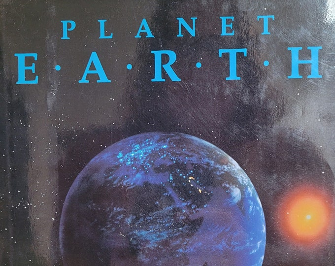 Planet Earth by Jonathan Weiner - 1986 First Edition - Vintage Science Book, Earth Sciences, Astronomy, Physics, Galileo, Climate Change
