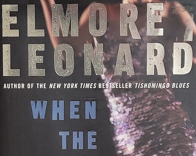 When the Women Came Out to Dance by Elmore Leonard - First Edition - Vintage Book, Short Stories