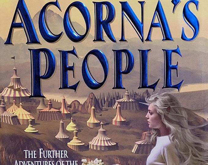 Acorna's People by Anne McCaffery, Elizabeth Ann Scarborough - 1999 First Edition - Vintage Fantasy Novel