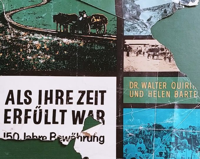 Als Ihre Zeit Erfullt War by Dr. Walter Quiring, Helen Bartel - History of German Mennonites in  Russia
