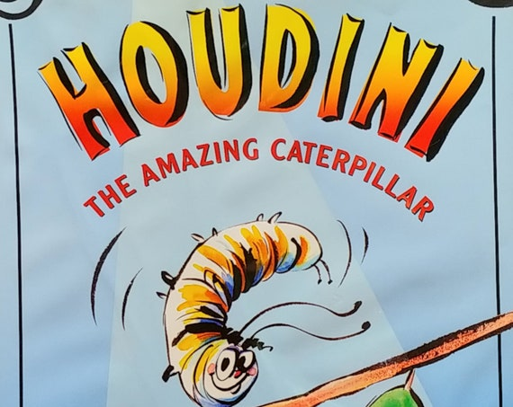 Houdini: The Amazing Caterpillar by Janet Pedersen - First Edition Children's Books