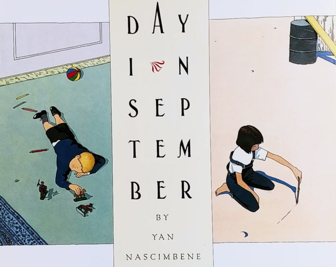 Day in September by Yan Nascimbene - First Edition Children's Books - Vintage Book
