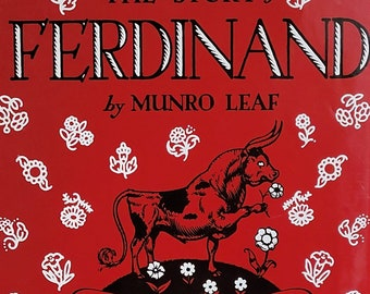 The Story of Ferdinand by Munro Leaf - Child Book, Ferdinand the Bull