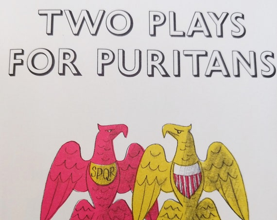 Two Plays for Puritans by George Bernard Shaw - George Him - Heritage Press - Shavian Plays, The Devil's Disciple, Caesar and Cleopatra