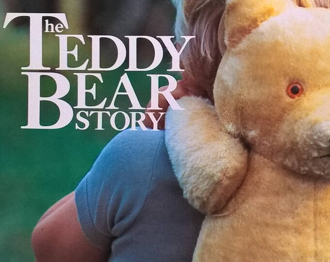 The Teddy Bear Story by Josa Keyes - First Edition Children's Books - Vintage Child Book, Collecting Teddy Bears, Arctophile
