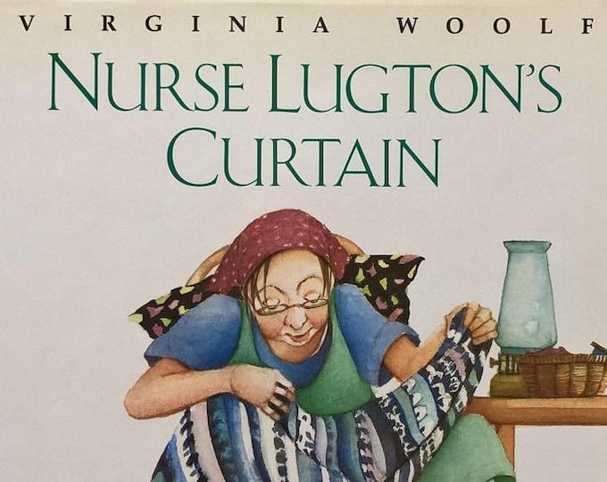 Nurse Lugton's Curtain by Virginia Woolf, Julie Vivas - First Edition Children's Books, Kids Books - African Animals, Animal Print, Sewing