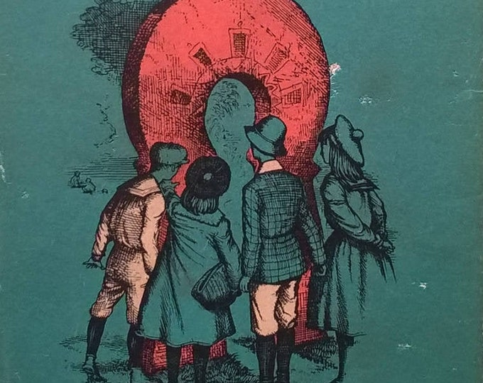 The Story of The Amulet by Edith Nesbit - Psammead Series - Child Book, Kids Book - Vintage Book. Fantasy Book, Magic, Time Travel, Wizards