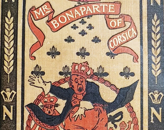 Mr. Bonaparte of Corsica by John Kendrick Bangs and H. W. McVickar  - 1895 First Edition - Harper & Brothers