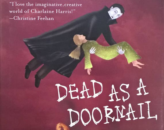 Dead As A Doornail by Charlaine Harris - Sookie Stackhouse - First Edition - Childrens Books, Fantasy, Vampires, Louisiana