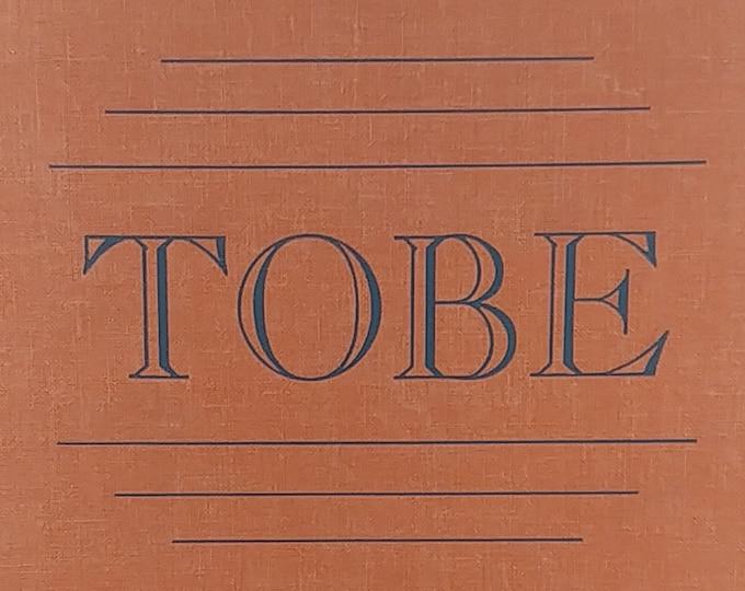Tobe by Stella Gentry Sharpe - 1939 First Edition - Vintage Child Book, Black History, Hillsborough North Carolina