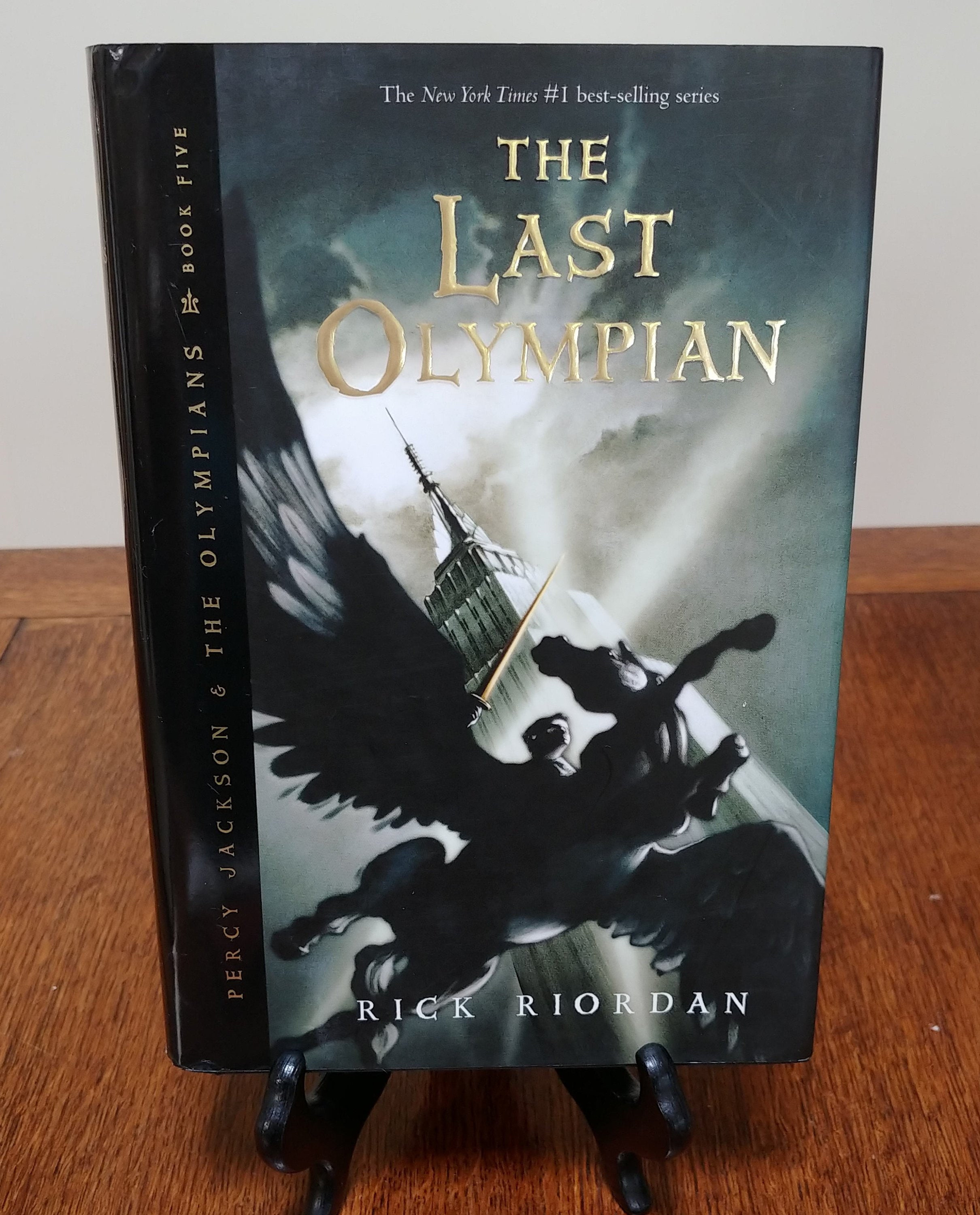 Percy Jackson and the Olympians Book Five The Last Olympian