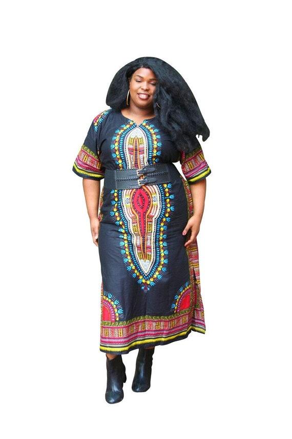 82faec1037988 Plus size dashiki dress dashiki maxi dress maxi dress