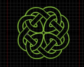 """Embroidery file """"Celtic knot swallowed inside"""""""