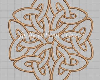 """Embroidery file """"Celtic big knot"""""""