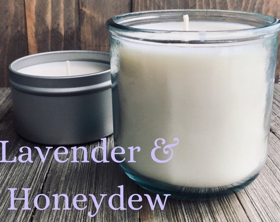 Lavender & Honeydew Soy Candle