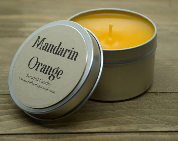 Mandarin Orange Soy Candle