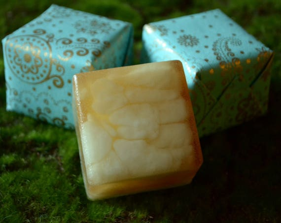 Cedar Vanilla Shea Butter and Honey Soap Bar