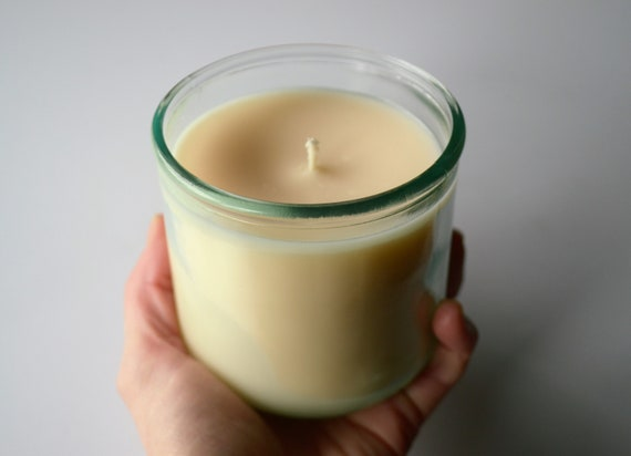 White Birch & Rose Soy Candle