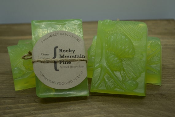 Rocky Mountain Pine Honey Soap Bar