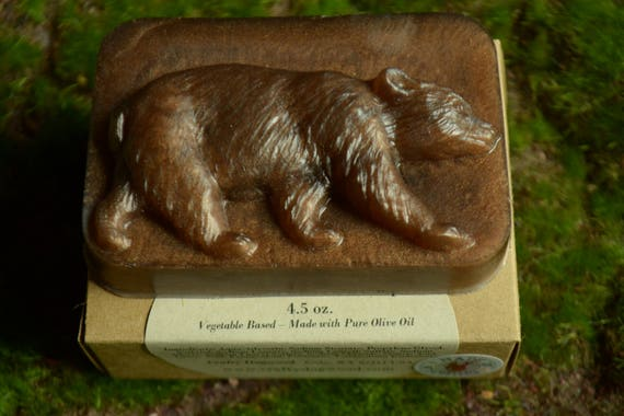 Bear Olive Oil Bar Soap