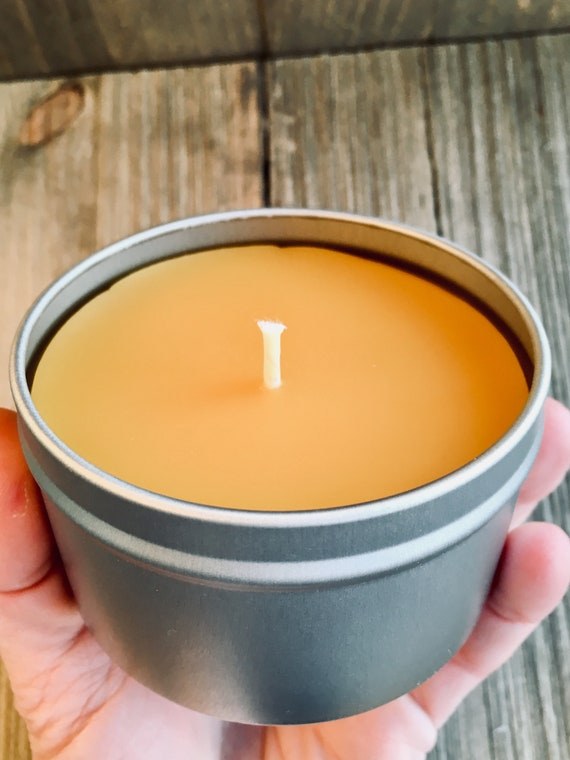 Lavender & Honeydew Natural Beeswax Candle