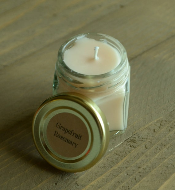 Mini Cranberry Orange Soy Candle