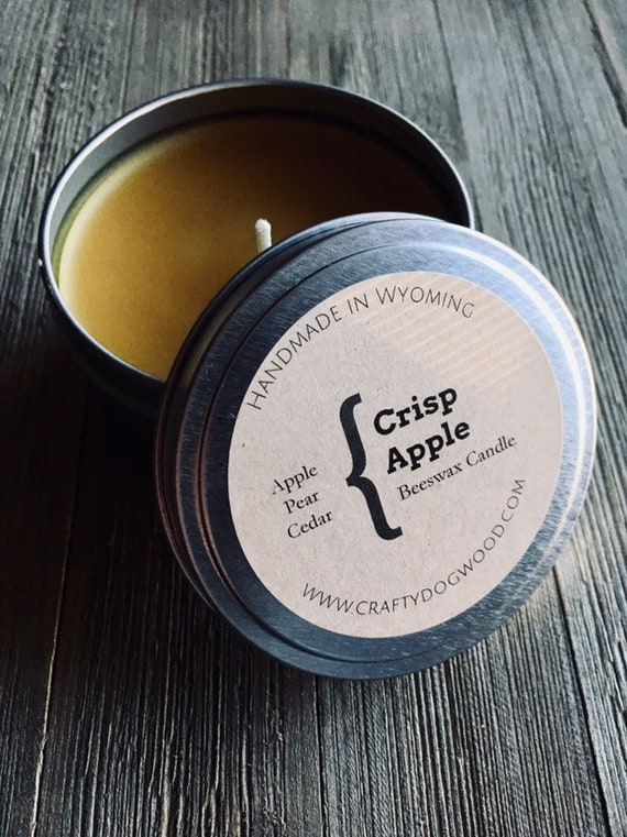 Crisp Apple Soy Candle