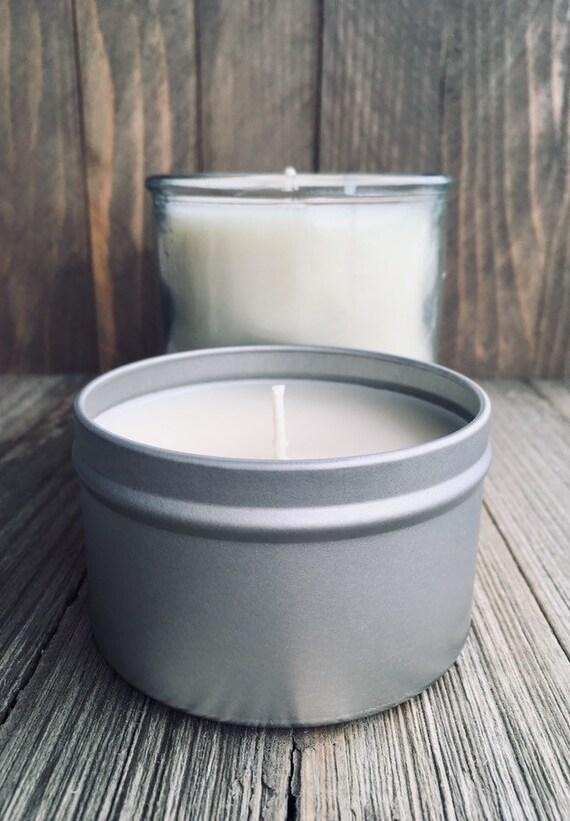 Gardenia & Basil Soy Candle