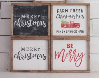Christmas Signs, Trendy Sign, Christmas Sign, Timber Farms Co, Wood Sign, Christmas Decor, Christmas, Rae Dunn,
