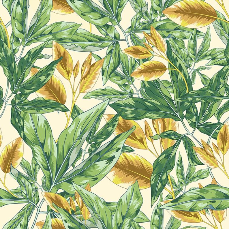 Flower Wrapping Nursery Wallpaper Botanical Wall Art Vintage Decor Digital Paper Pack Wrapping Paper Hawaiian Seamless Botanical Art