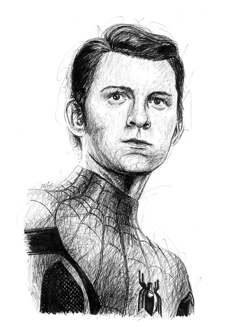 Spider Man Peter Parker Drawing