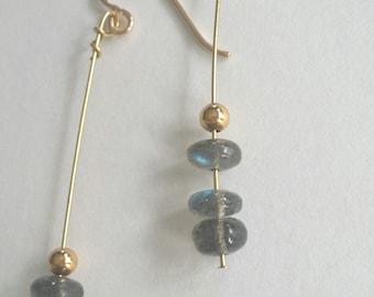 Labradorite and Gold