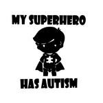 My Superhero Has Autism Vinyl Car Decal