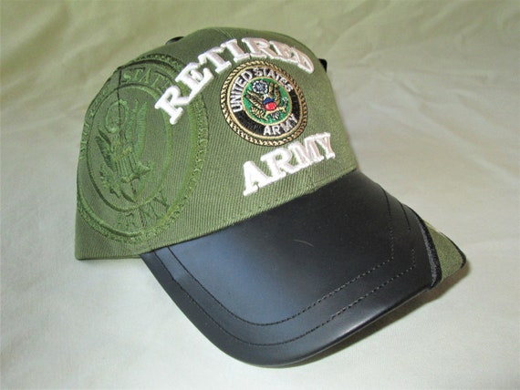 Army Hat Retired Nos 1990s Vintage Etsy