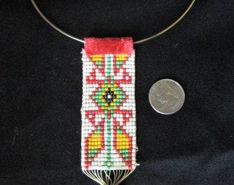 1970s Southwest Style Beaded Necklace Jewelry Vintage